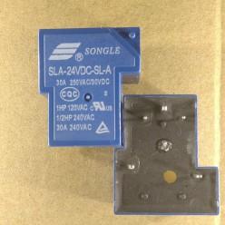 Реле 24V 30A маркировка SLA-24VDC-SL-A