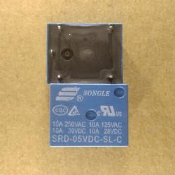 Реле 5V 10A маркировка SRD-05VDC-SL-C