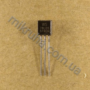 Стабилизатор 78L05ACZ (5V)
