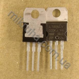Стабилизатор 7806CV (6V)