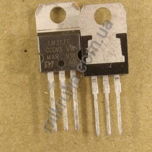 Стабилизатор LM317T (1,2-37 V)