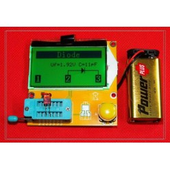ESR тестер (тестер полупроводниковых элементов, тестер радиодеталей)