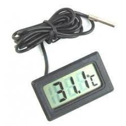 LCD термометр черный