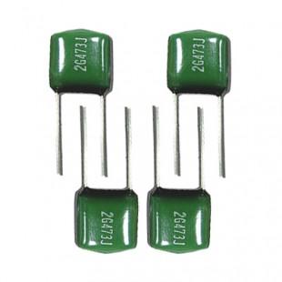 Конденсаторы плёночные с диэлектриком из лавсановой (полиэтилентерефталатной) пленки